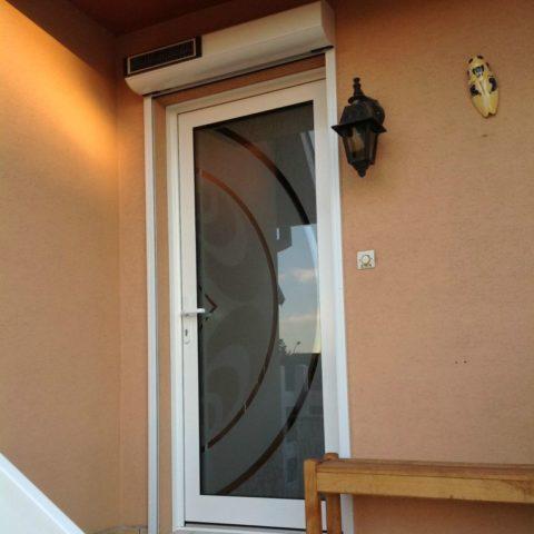 Porte d'entrée aluminium WITTENHEIM DELNEGRO