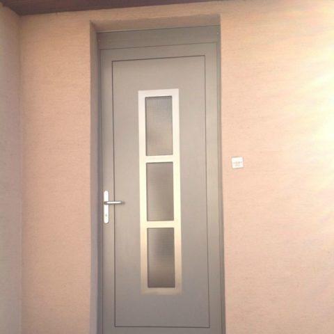 Porte d'entrée aluminium ISSENHEIM PEREIRA