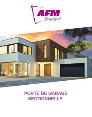 Catalogue Porte de garage sectionnelle