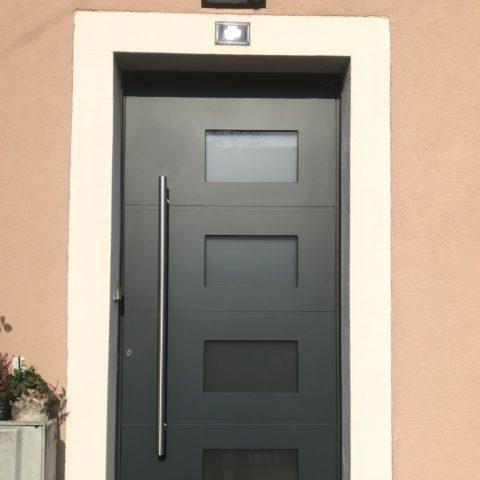 Porte d'entrée en aluminium BEAU CERNAY
