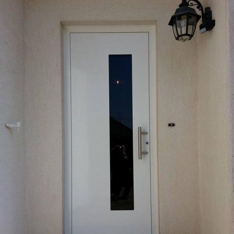 Porte d'entrée aluminium ESCHENTZWILLER BUCHHOLTZ