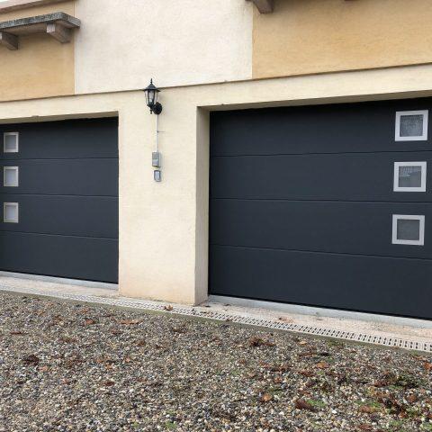 2 portes de garages sectionnelles à CERNAY