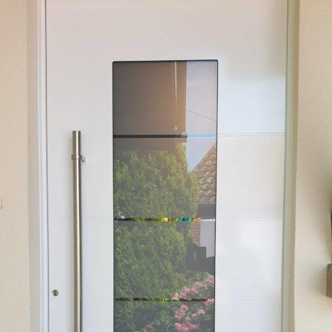 Porte d'entrée en aluminium haut de gamme de qualité à LAUTENBACH