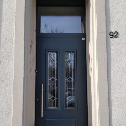 Pose d'une porte d'entrée à MULHOUSE