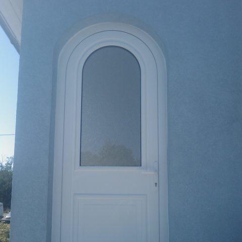 Porte d'entrée cintrée à WITTELSHEIM