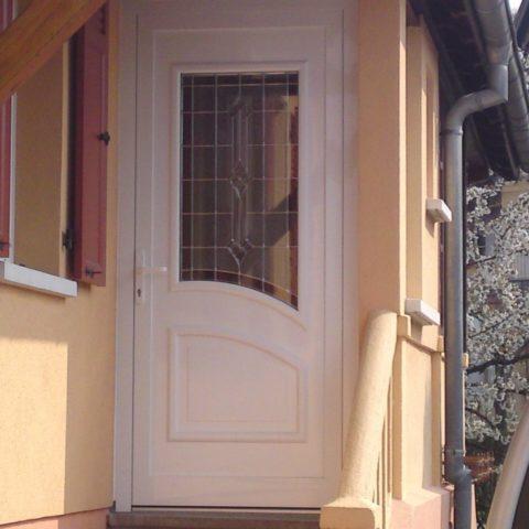 Porte d'entrée à WITTENHEIM