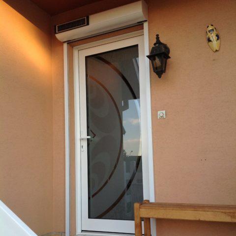 Porte d'entrée à WITTENHEIM près de MULHOUSE