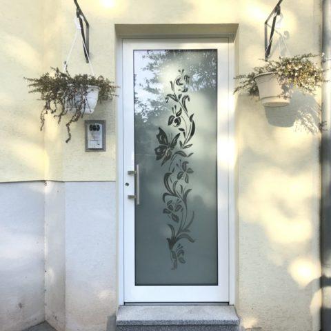 Porte d'entrée isolée installée à THANN