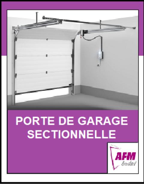 Comment se pose une porte de garage sectionnelle ?